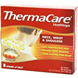 ThermaCare Air-Activated Heatwraps, Neck, Wrist & Shoulder, 3 HeatWraps (Pack of 5)