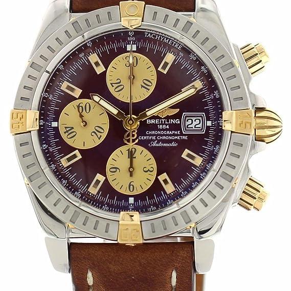 Breitling Cronomat Automático Reloj De Viento Automático B13352 para Hombres: Breitling: Amazon.es: Relojes