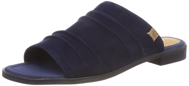 Marc O'Polo Damen Flat Sandal 80314541108305 Pantoletten, Braun (Cognac), 39 EU