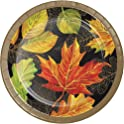 Creative Converting 332026case Elegant Fall Dessert Plates One Size