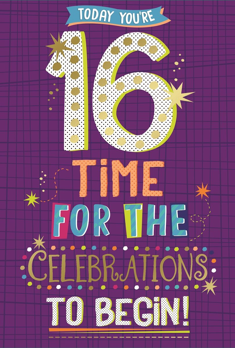"Presents /& Balloons 7.75/"" x 5.25/"" Age 8 Boy Birthday Card Dark Blue Number"