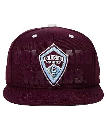 save off ec284 aa5ed ... get colorado rapids adidas mls maroon academy one size snapback hat cap  129a2 fbed3 ...