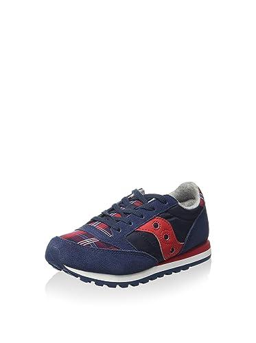 SAUCONY ORIGINALS Sneaker Jazz Original Boys Kids Blu Navy Rosso EU 27 (US  10.5 cee48ceb496