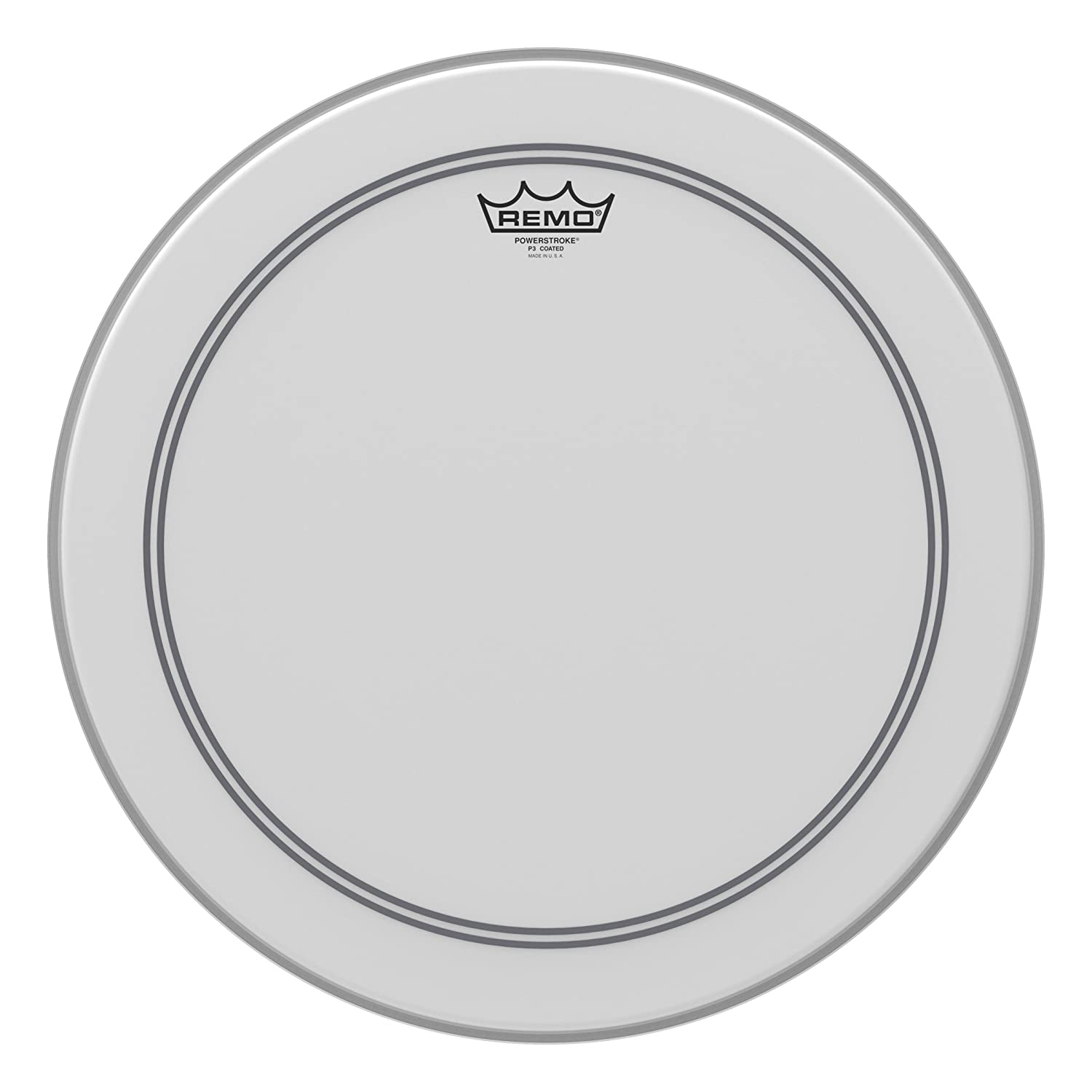 Remo Powerstroke P3 Coated Bass Drumhead, 18