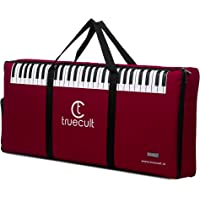 True Cult Keyboard Gig Bag/Cover for 61-Keys Yamaha or Casio Keyboard High quality material, Easy to carry with grip handle/Strong durable material