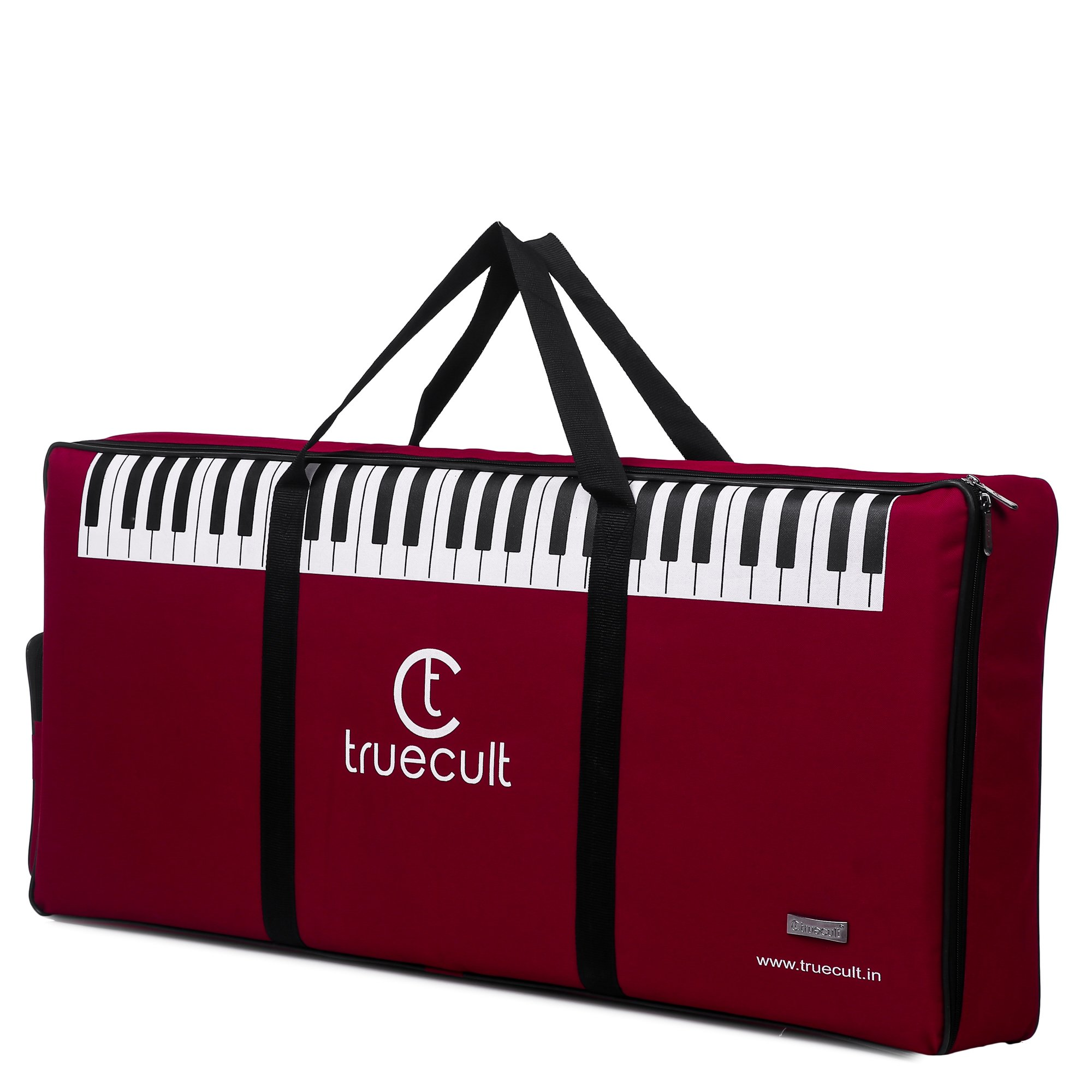 True Cult Keyboard Gig Bag/Cover for 61-Keys Yamaha or Casio Keyboard High quality material, Easy to carry with grip handle/Strong durable material product image