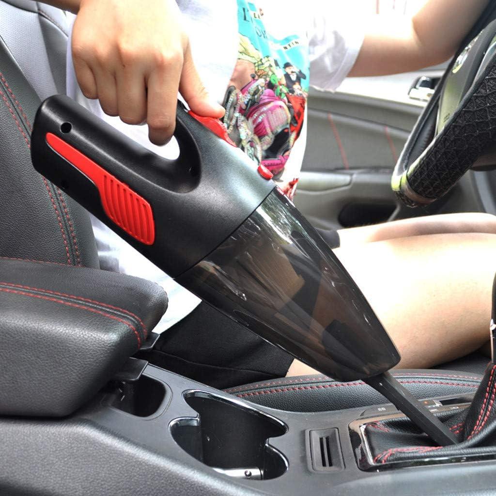 Black Ts99-kWm Portable 5000Pa Car Vacuum Cleaner 120W Handheld Vacuum Cleaner Household Cordless