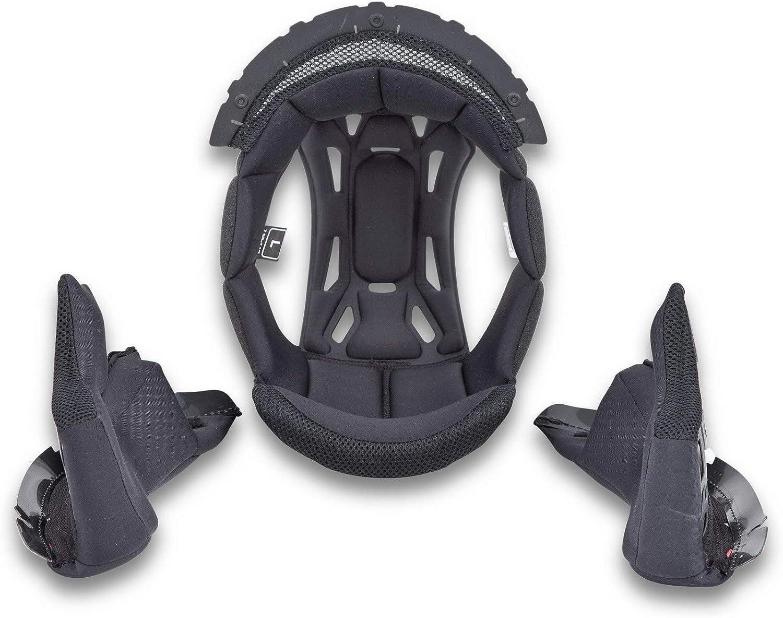 Black 2X-Large Scorpion EXO-ST1400 Kwikwick 3 Liner Set Street Motorcycle Helmet Accessories