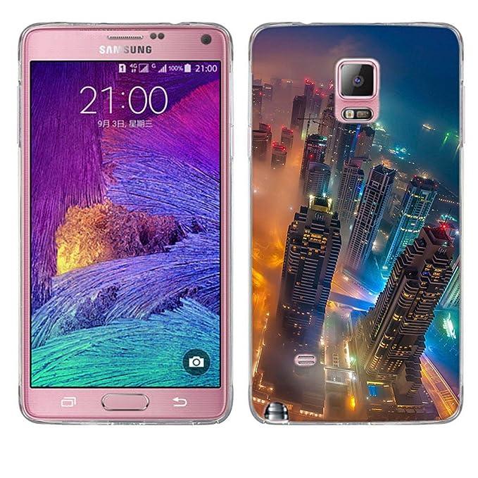 Funda para Samsung Galaxy Note 4, FUBAODA [resistente a los ...