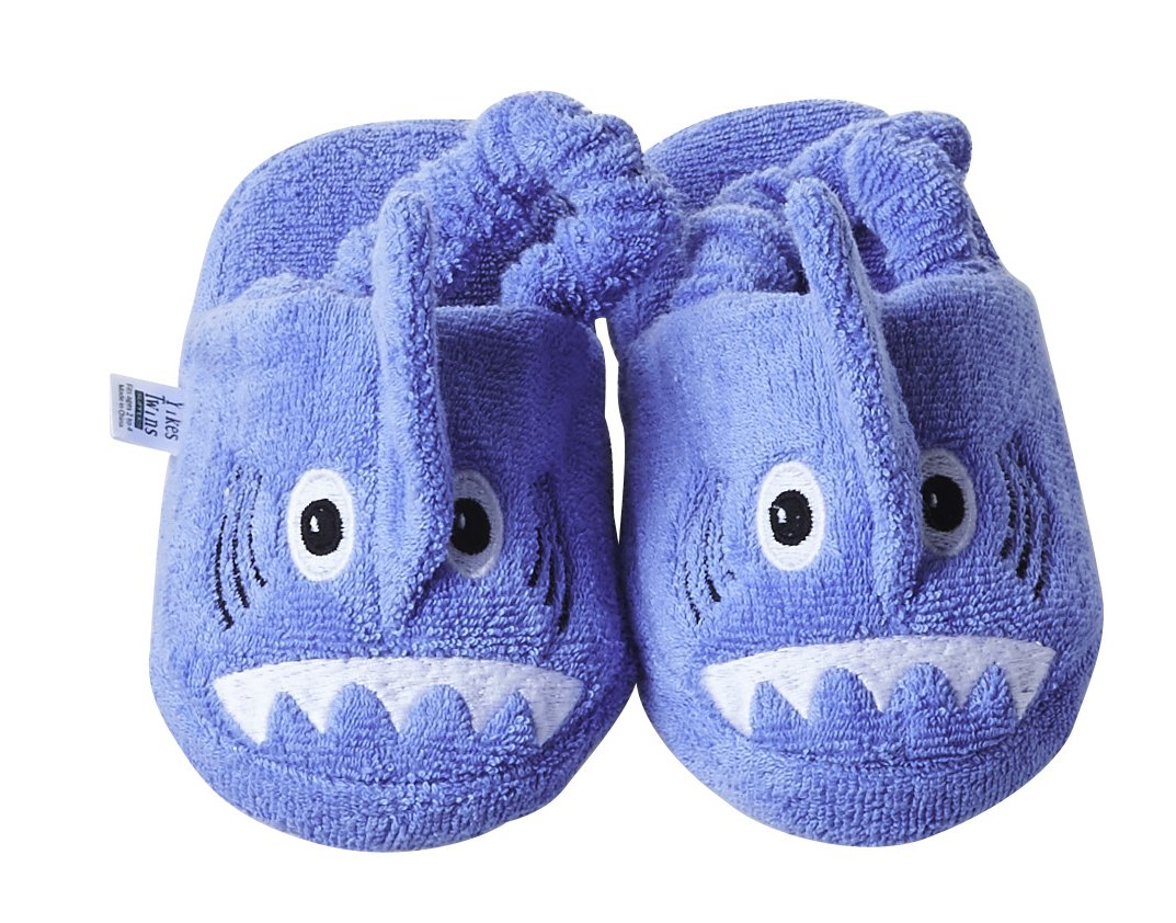 Yikes Twins Children's Slippers - Shark (Ages 2-4)