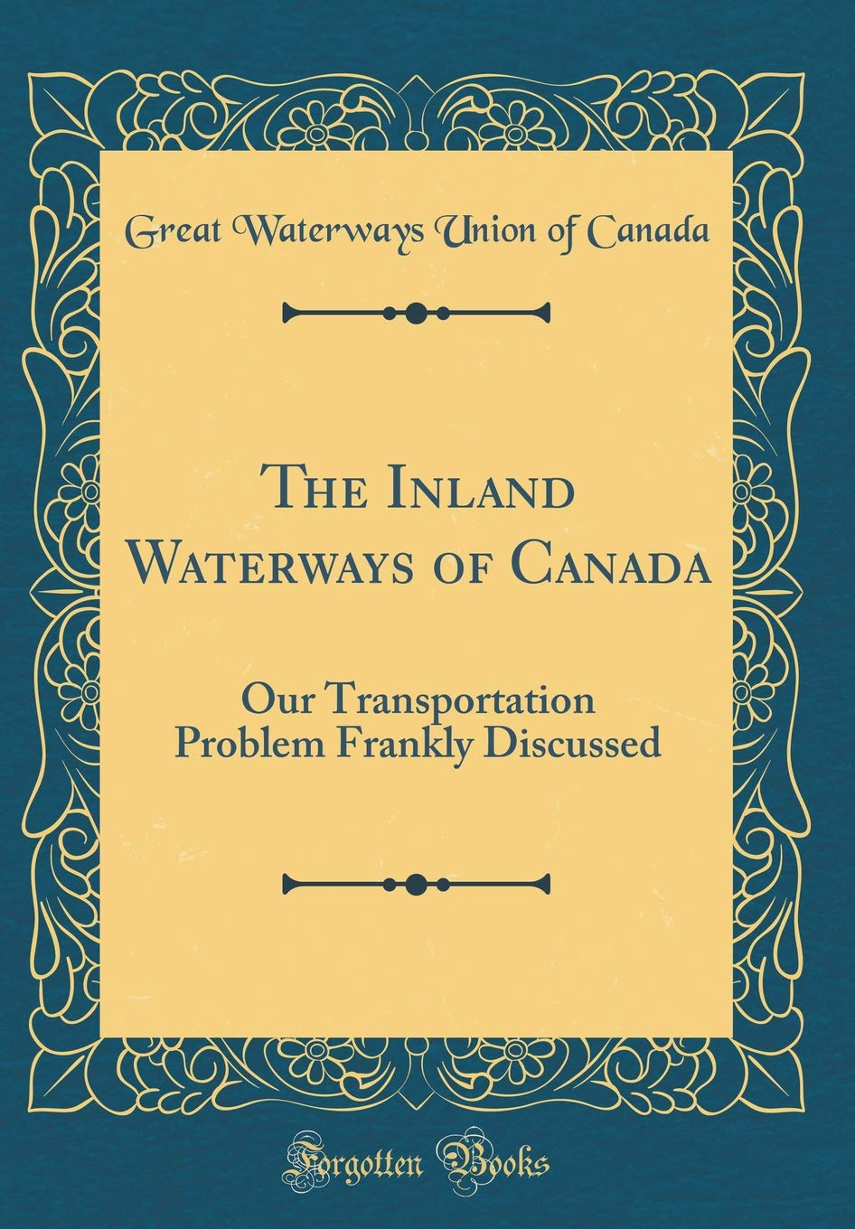 North American Waterways Lakes Islands French Canada 9 2