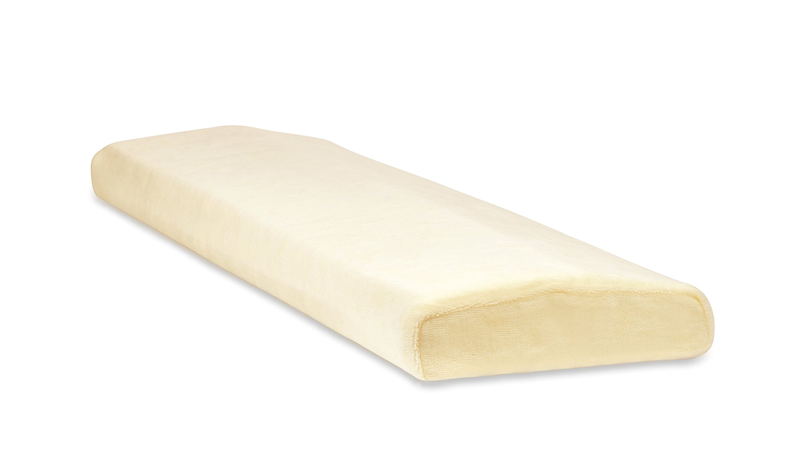TruContour Super Lumbar Pillow for Sleeping Back Pain - Support The Lower Back in Bed with Medical Grade Memory Foam