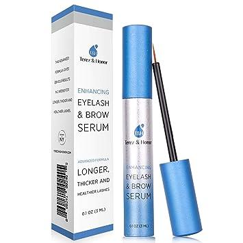 34b09ecc2cd Natural Eyelash Growth Serum and Brow Enhancer to Grow Thicker, Longer  Lashes for Long,