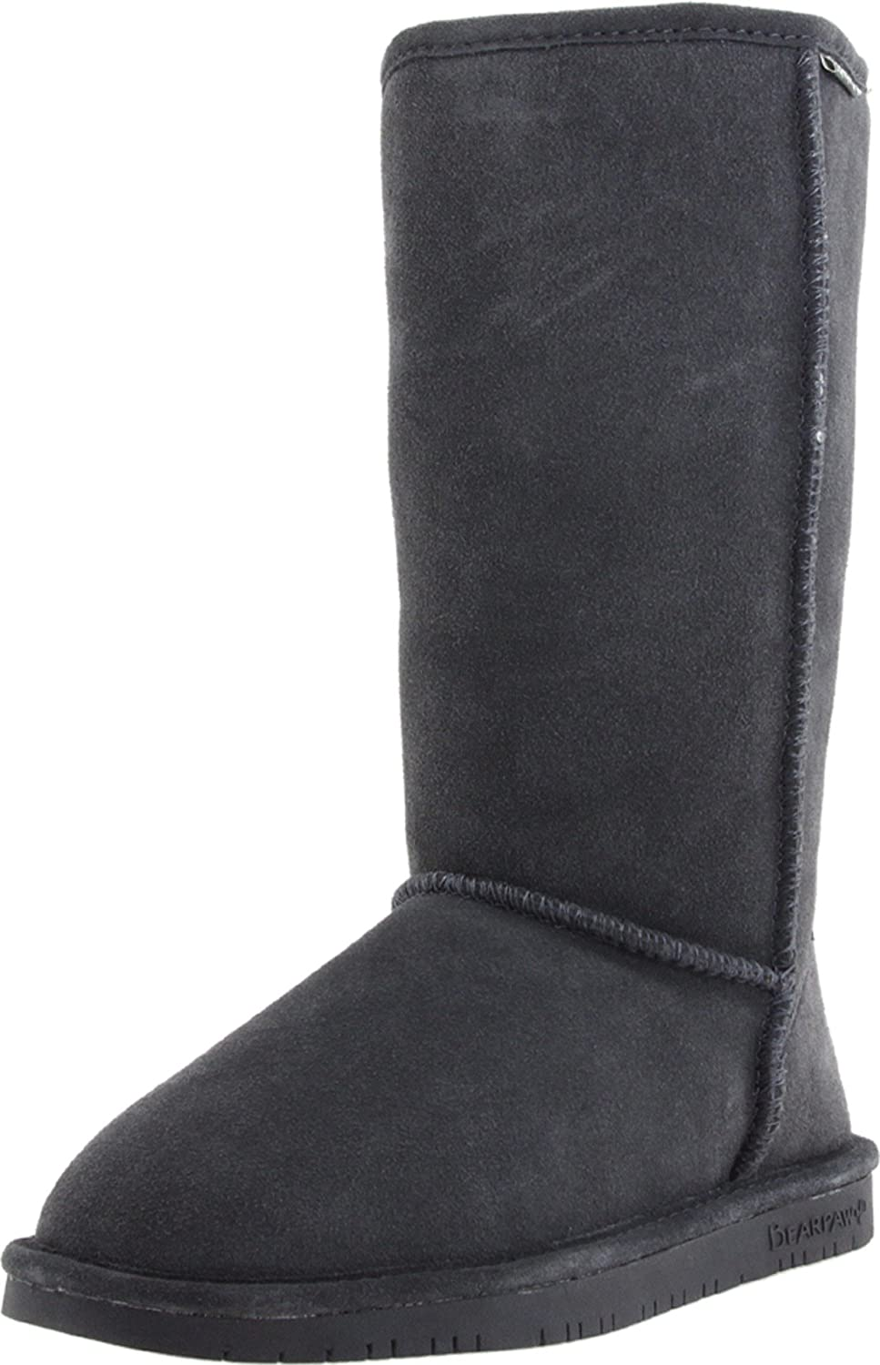 BEARPAW Women's Emma Tall Mid Calf Boot B00PWS2PSA 8 B(M) US|Charcoal