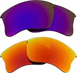 db608b2f246 Half Jacket 2.0 XL Replacement Lenses Polarized Red   Purple by SEEK fits  OAKLEY