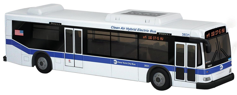 Electric, zero-emission MTA bus hits the road - NY Daily News