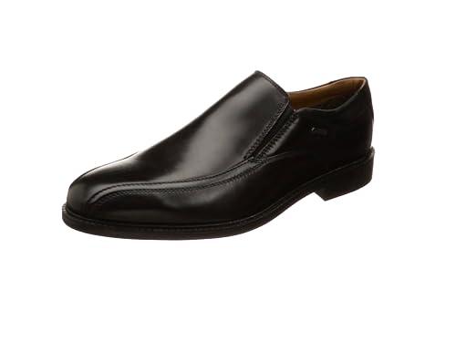 Clarks Chilver Go Gore-Tex® - Zapatos de Cordones de Piel para Hombre Negro