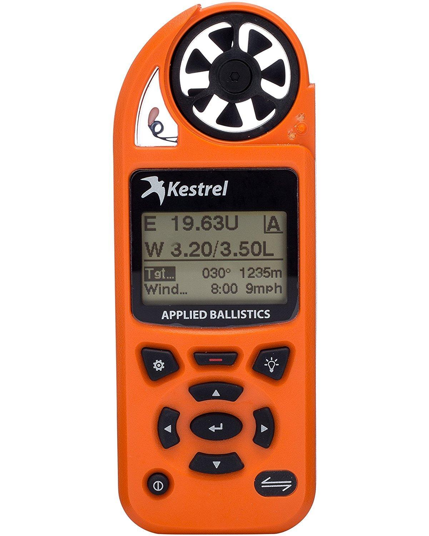 Kestrel 5700A Elite Weather Meter w/Applied Ballistics - Blaze Orange by Kestrel   B01CMZSRRS