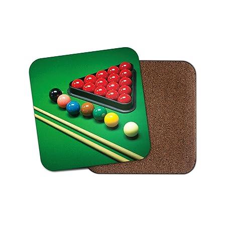 1 posavasos de juego de billar para hombre #16452: Amazon.es: Hogar