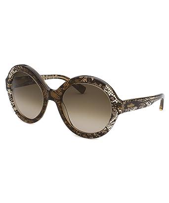 Amazon.com: Valentino 668s-241 – 54 Mujer café Translúcido ...