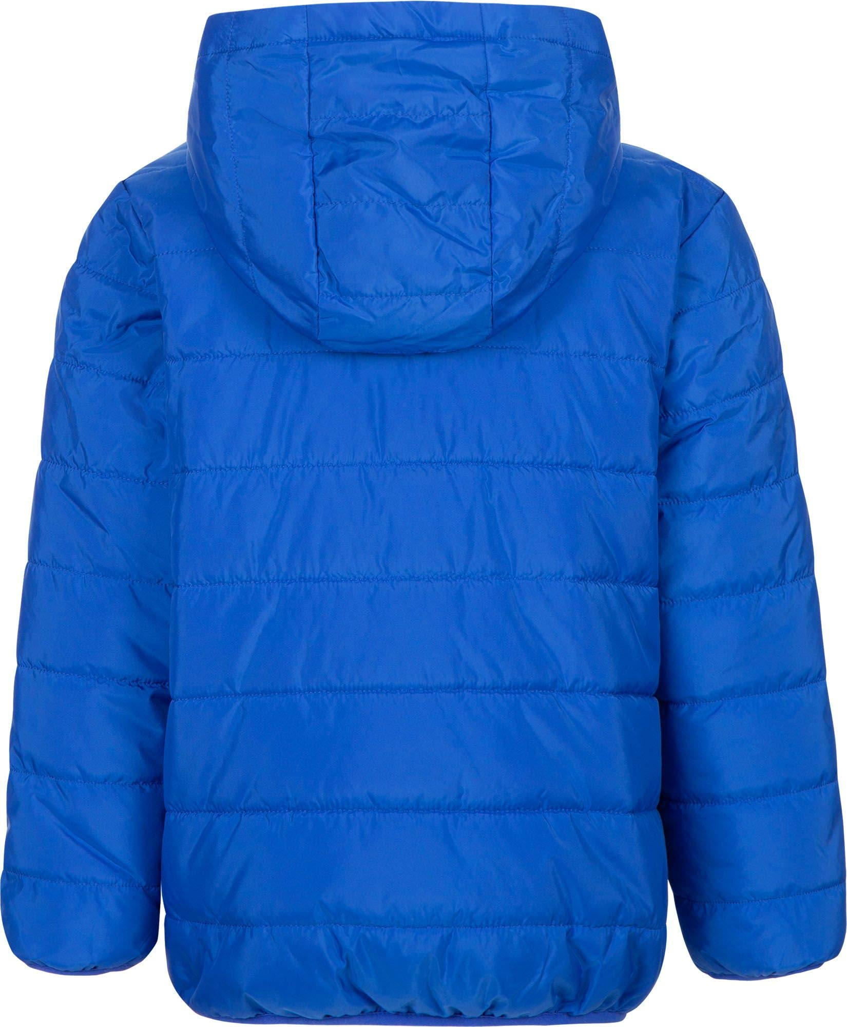 Nike Boy's Polyfill Quilted Insulated Puffer Jacket (Game Royal/Black, 4) by Nike (Image #2)