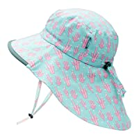 JAN & JUL Kids' GRO-with-Me Aqua-Dry Adventure Hat | 50+ UPF Wide Brim Water-Repellent...