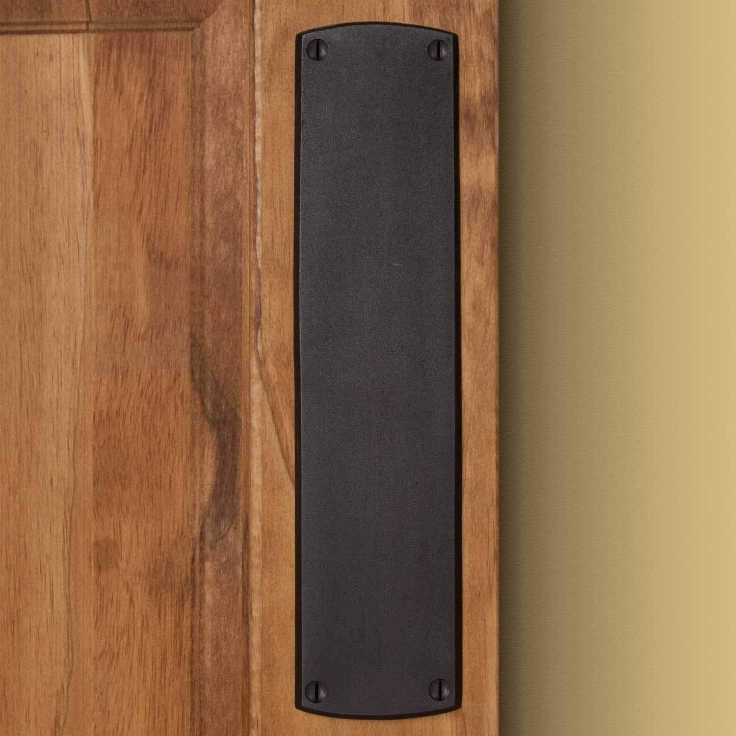 Casa Hardware Bronze Traditional Push Plate - Bronze Patina by SIGHW (Image #2)
