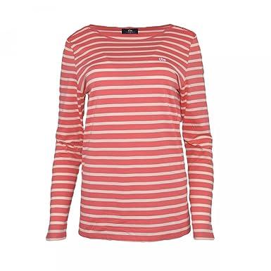 8722695df8b6e9 TBS T shirt marinière Vogtee - Goyave - Femme: Amazon.fr: Vêtements ...