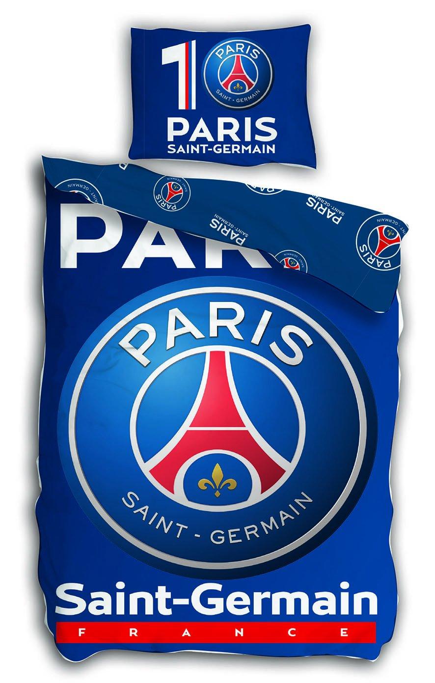 /Juego de Cama/ /Funda de Edred/ón 140/x 200/cm Funda de Almohada 63/x 63/cm Paris St German F/útbol PSG/