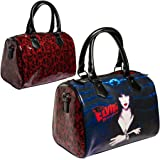 Elvira Red Glitter Purse Goth Chic Style Kreepsville Halloween Handbag