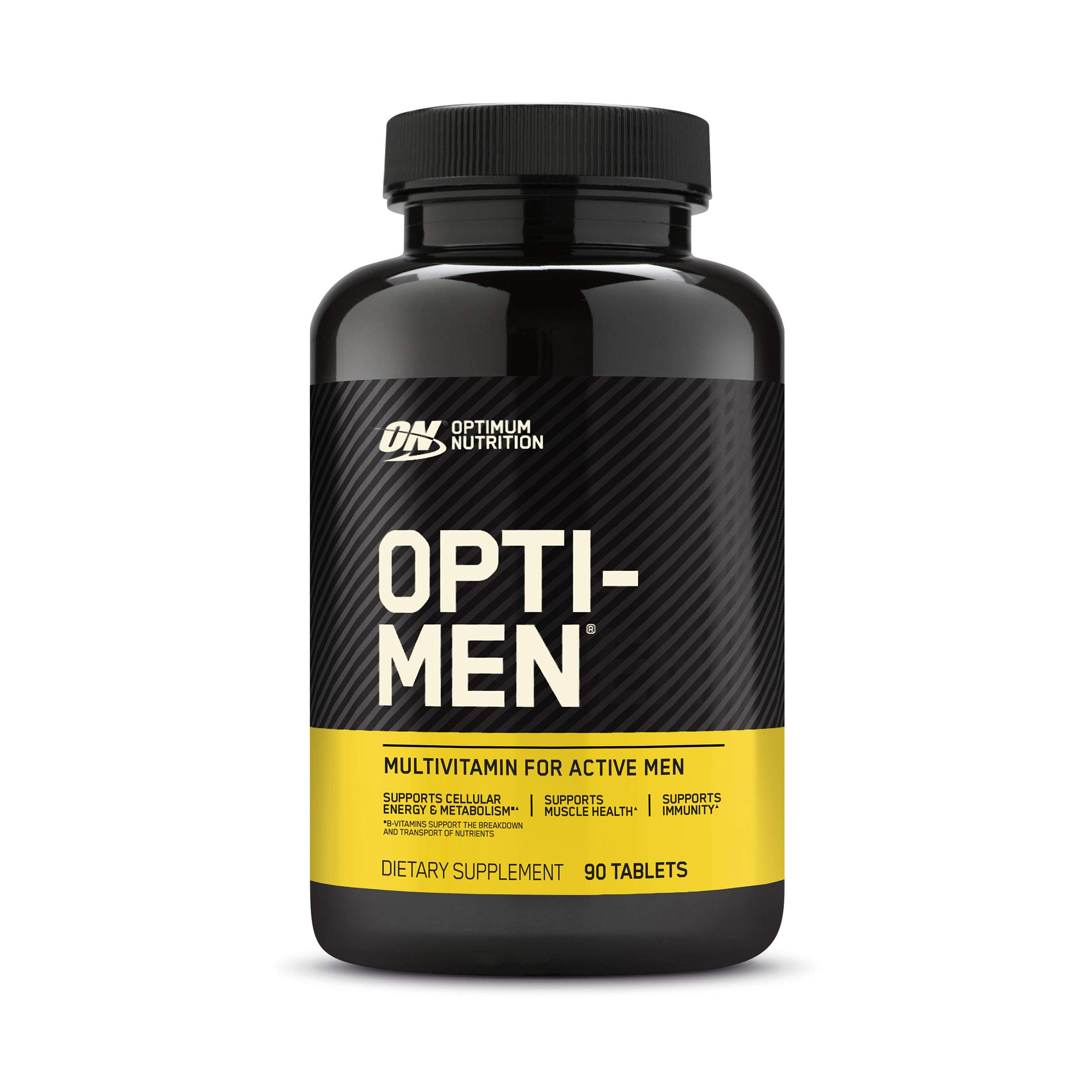 Optimum Nutrition Opti-Men, Vitamin C, Zinc and Vitamin D, E, B12 for Immune Support Mens Daily Multivitamin Supplement, 90 Count (Packaging May Vary)