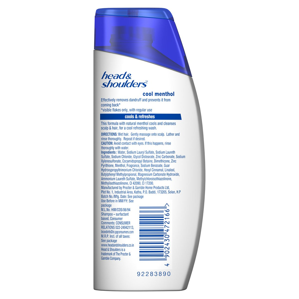 Buy Head And Shoulders Shampoo Cool Menthol 80ml Online At Low Ampamp Shoulder Sampo 330 Ml Prices In India