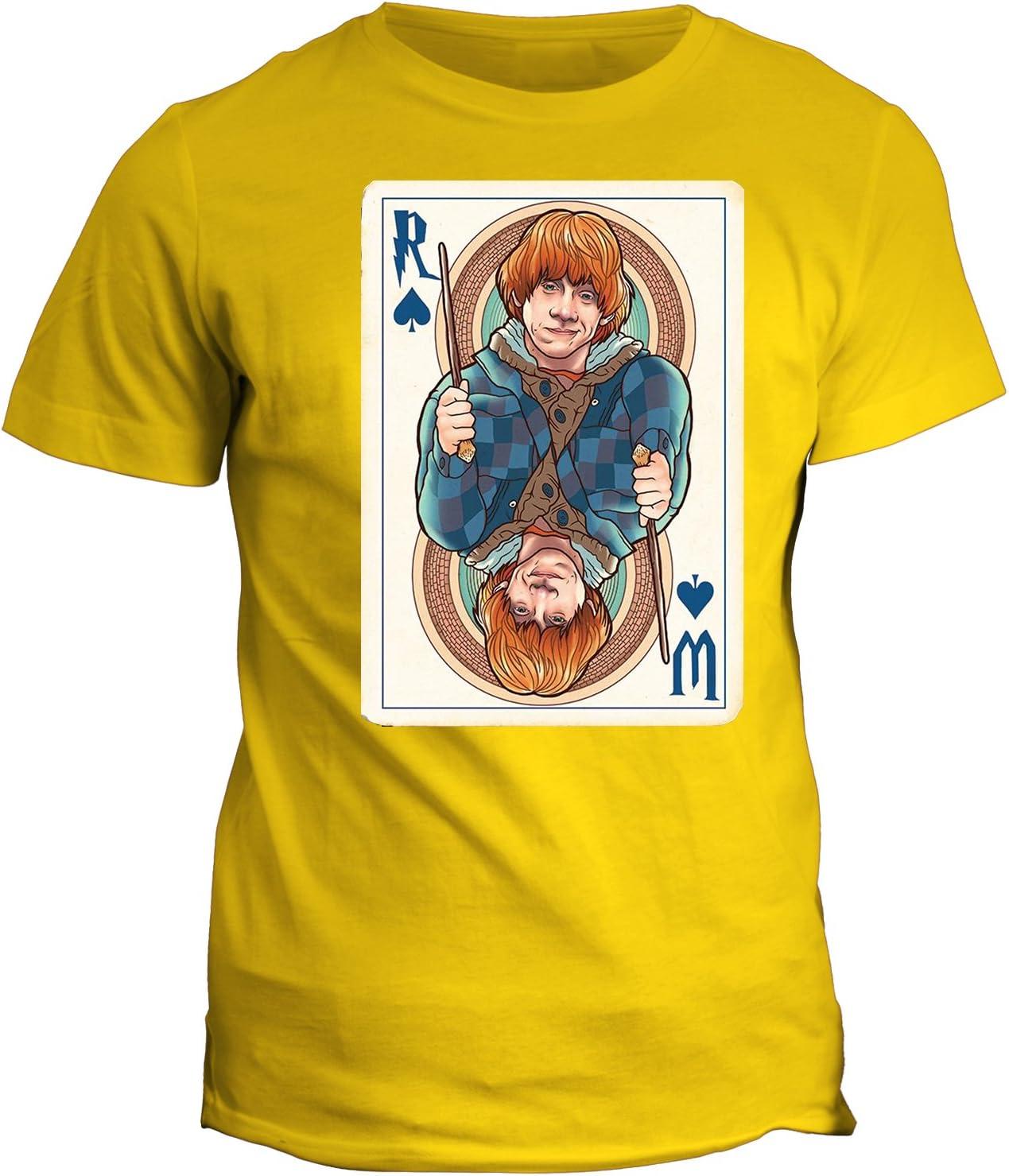 fashwork Tshirt Papel de Juegos Ron Ronald bilius Weasley ...