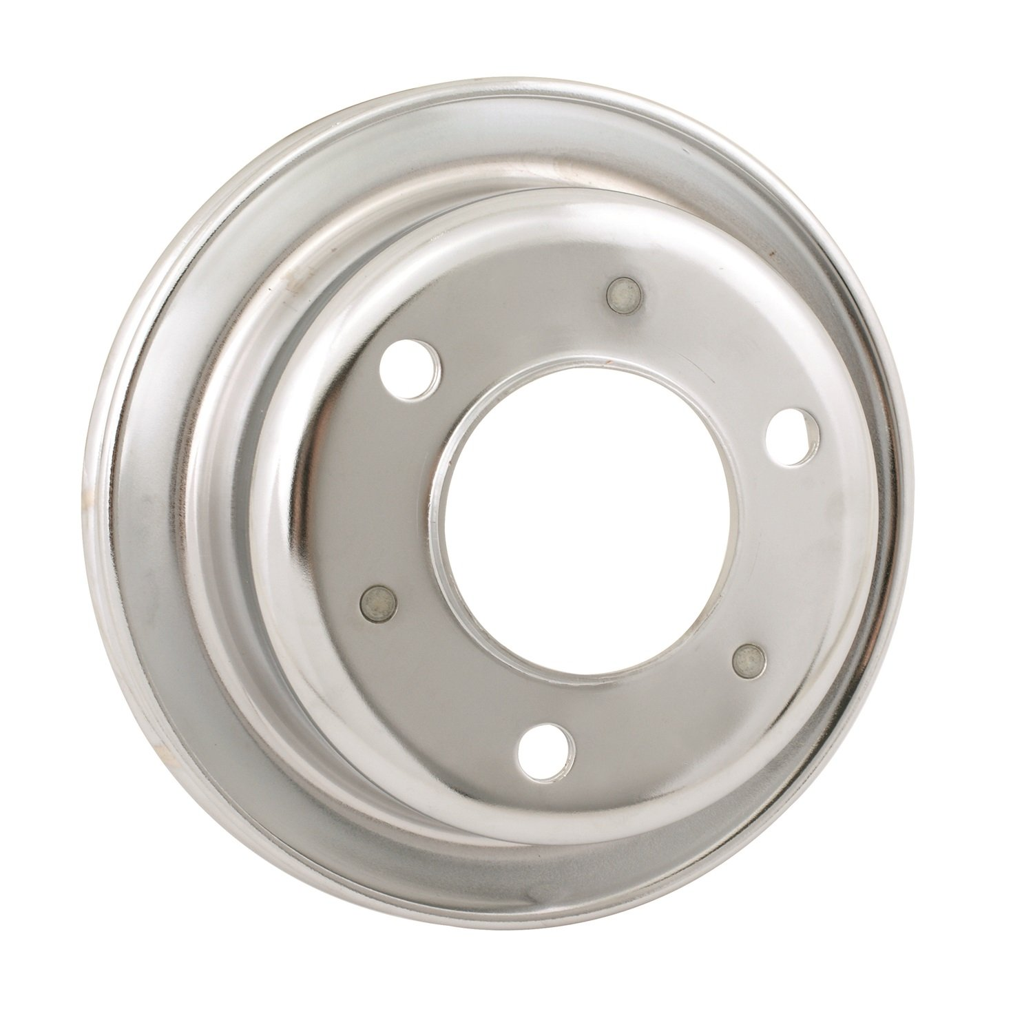 Mr. Gasket 8827 Chrome Plated Steel Engine Pulley