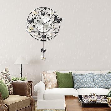 TIANT UK- Luxus Hohe Qualität Große Wanduhren Wohnzimmer Kreative ...