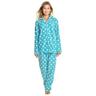 3ddc6d16a Angelina Cozy Fleece Pajama Set at Amazon Women's Clothing store