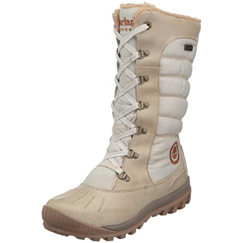 Timberland Mount Holly Lace Duck- Botas impermeables de caña alta para mujer, color beige, talla 37: Amazon.es: Zapatos y complementos