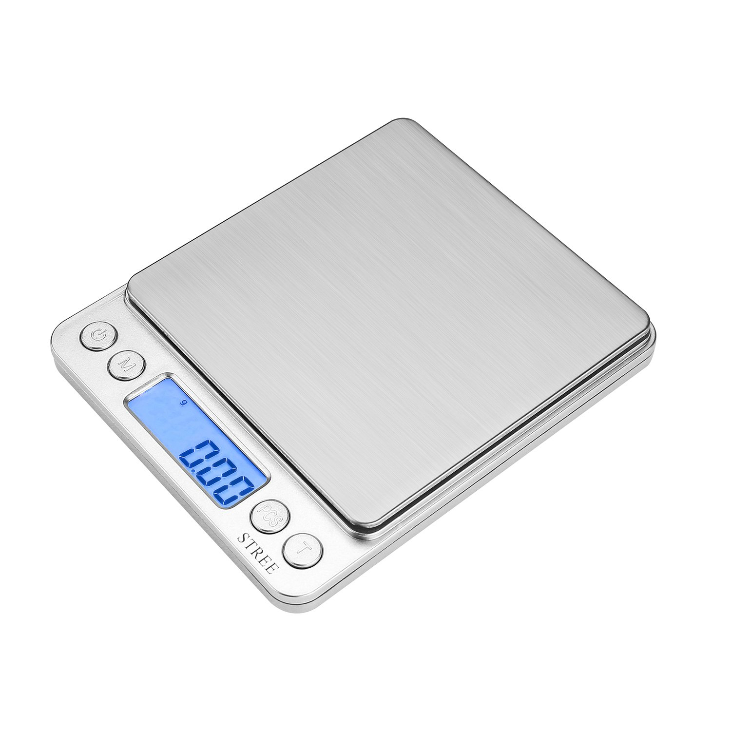 Amazon com stree 500g 0 01g digital kitchen scale high precision multifunction pocket food scale kitchen dining