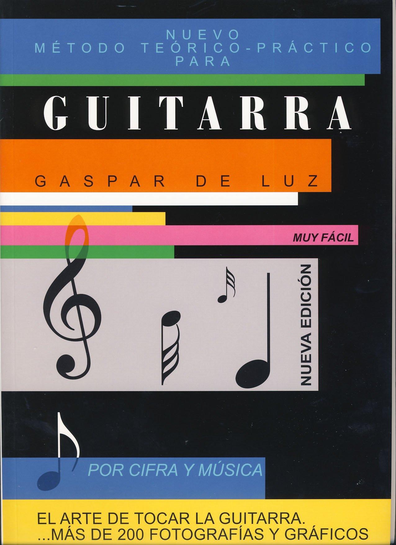 GASPAR DE LUZ - Metodo Musica y Cifra para Guitarra Nueva Edicion ...