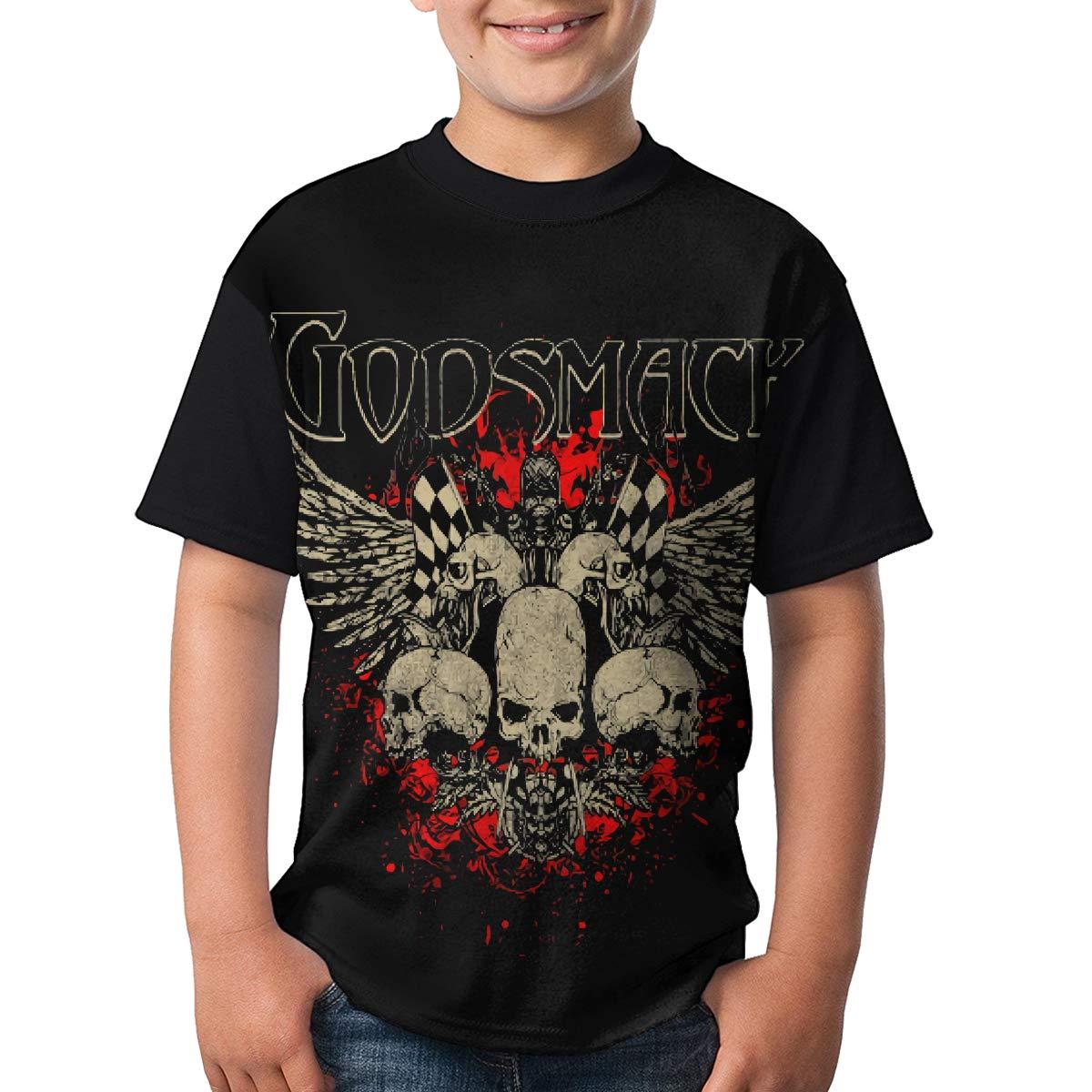 Denise K Steinbach Godsmack T Shirt Youth Boys/&Girls Youth Round NeckShort Sleeve Tees
