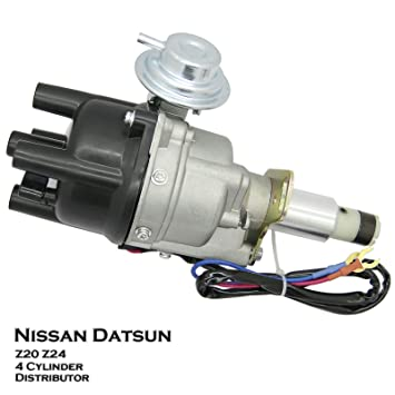 Amazon com: Ignition Distributor Fit For Nissan Navara D21