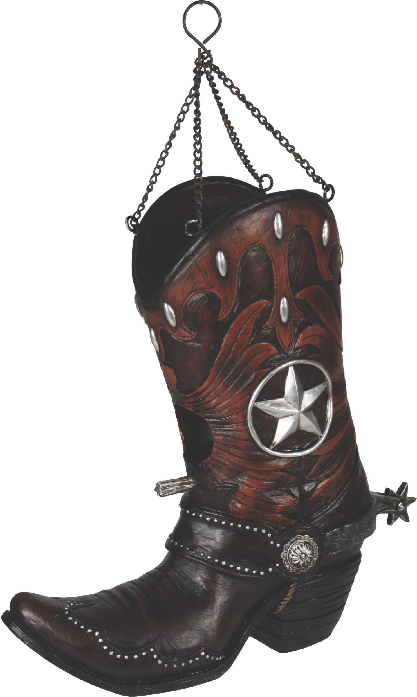 River's Edge Products Cowboy Boot Birdhouse