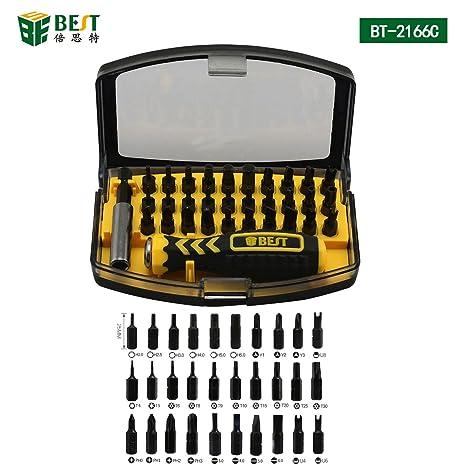 Best Tool – Bst-37 2166 C – Portátil Universal – Destornillador/Set de