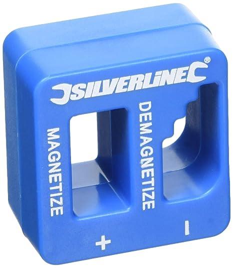 Silverline 245116 Conector para Destornilladores, 50x50x30mm
