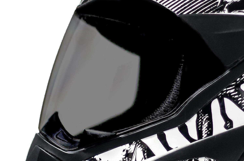 ATO Moto 801 GS War Matt Gr/ö/ße M 57-58cm Enduro Helm mit Visier Moped Quad ATV Motocross Motorradhelm ECE 2205