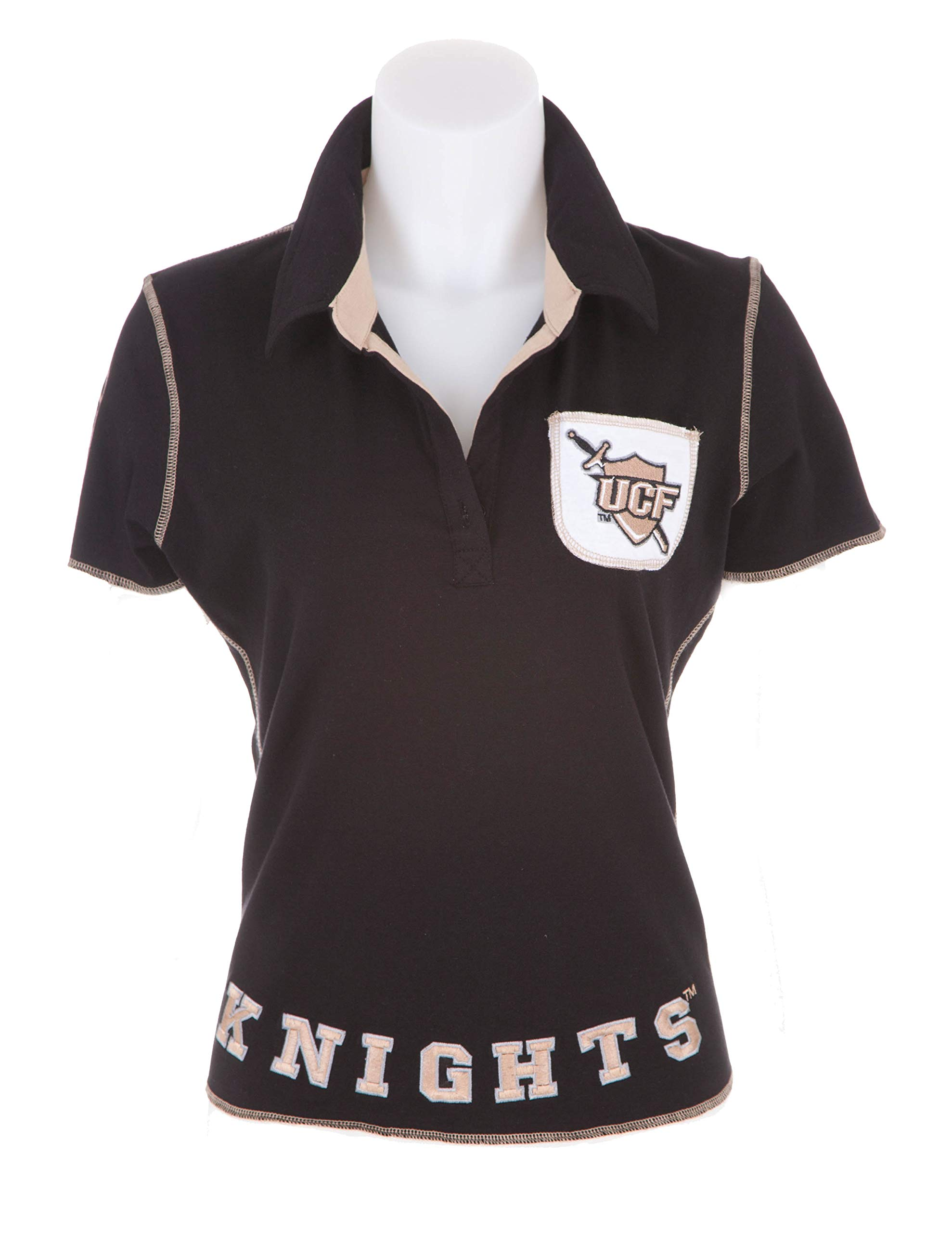 Flying Colors Womens University of Central Florida Juniors Legacy Polo,Small