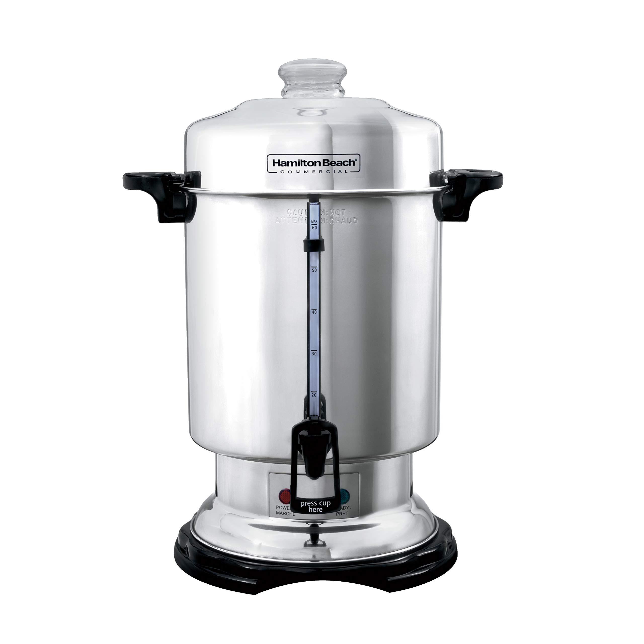 Hamilton Beach Commercial Stainless Steel Coffee Urn, 60 Cup Capacity D50065 by Hamilton Beach