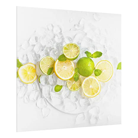 Backsplash Cooker Splashback Protector Panel Decorative Dimension HxW: 59cm x 80cm Medicinal And Wild Herbs Bilderwelten Glass Splashback Landscape 3:4
