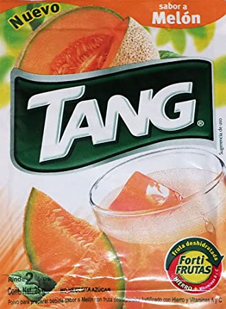 3 X Tang Melon Flavor No Sugar Needed Makes 2 Liters of Drink 15g From Mexico