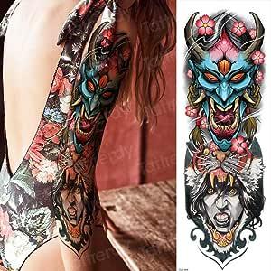 3 Piezas Tatuaje Belleza Pegatina Bikini Tatuaje Manga Brazo ...
